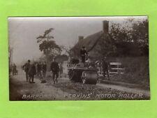 Barford & Perkins Motor Roller not Steam Roller Peterborough Advertising  E904