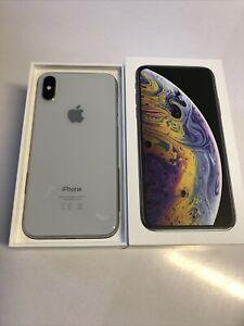 Apple iPhone XS - 64 GB - Silver (Unlocked)