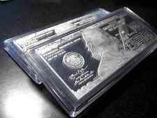 HARD PLASTIC AIR-TITE CASE FOR 4 oz SILVER CURRENCY BAR ~ NEW & EMPTY FREE SHIP!