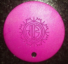 Great NEW TESLA Purple Plate Pendant Disk for Positive Natural Energy Pet Disc