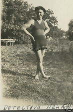 """OLD CAPONE ERA """" CHICAGO DICK """" DETECTIVE NEARY YOUNG MAN OUTFIT GAY INT PHOTO"""