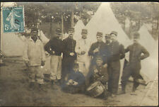 72 CHAMPAGNE AUVOURS CARTE-PHOTO MAISON DESHAYES COURTIERS ROUEN 1912