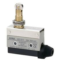 (1) NO+NC Micro Limit Switch SPDT Panel Mount Roller Plunge Type 10A 125V