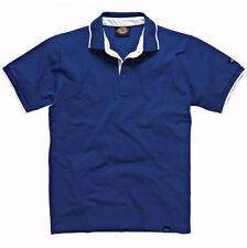 Dickies Dt2000 Anvil Polo Shirt 22 Range Colour Contrast Detail Logo Men Tee Blue 3xl