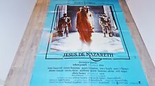 JESUS DE NAZARETH  !  franco zeffirelli affiche cinema