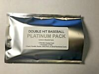 DOUBLE HIT PLATINUM PACK BASEBALL 1 PSA GRADED 1 AUTOGRAPH OR RELIC CARD + MORE!