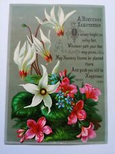 Victorian Happy Birthday greetings card