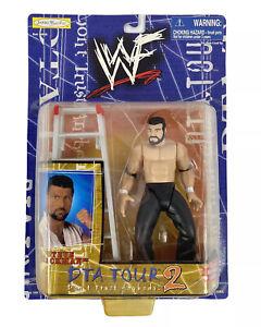 WWF Jakks- Steve Blackman- DTA Tour 2 Dont Trust Anybody Figure-Vtg 1999-WWE New