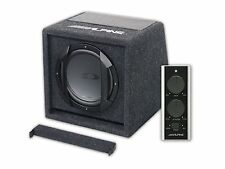 "Alpine swe-815 8"" 20cm 150w SUBWOOFER AMPLIFICATO BASS BOX tra cui Wired Remote"