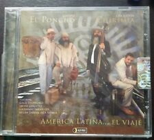 El Poncho/Chirimia-America Latina...El Viaje CD Still Sealed Gegé Telesforo Jazz