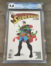 DC Comics Superman #700 (2010) Risso Variant CGC 9.8 NM/M