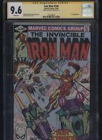 Iron Man #140 CGC 9.6 SS Boy Layton 1980