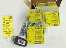 Donkey Key Tags Laminated Self Protecting 250 Tags Per Box Assorted Colors