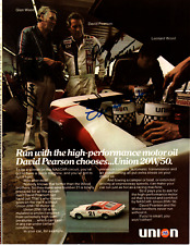 David Pearson & Wood Brothers original hand signed autographed advert