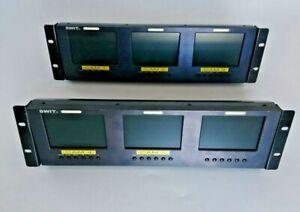 SWIT M-1050B 3 x 5-inch LCD MONITOR