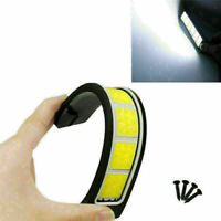 2pcs Bright Flexible Waterproof COB LED DRL Daytime Lights Running Easy t B Q6H5