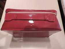 Estee Lauder Red Cosmetic Make Up / Train Case