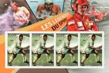PELE Brazil Footballer Legend / Football Sport Stamp Sheet (2012 Burundi)