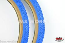"""Kenda K55 Freestyle 20"""" x 1.75"""" Skinwall Tyres Blue - Sold In Pairs"""