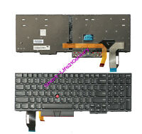 Brand New for lenovo IBM Thinkpad L590 T590 P72 laptop black US keyboard backlit
