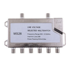 Satellite Switch Multi-Switch 2-In/6-Out JS-MS26