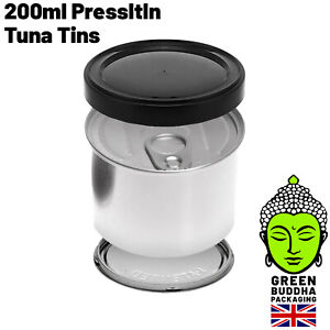 Press It In Tuna Tins PressItIn Cali Jar Self Seal Ring Pull Tin Can 200ml 7g