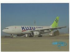 Kuzu Cargo Airbus A300B4 Aviation Postcard, B006