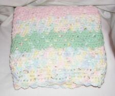 Handmade Baby Blanket, Lap Blanket, Throw Blanket, Bedding, Gift, Crib, Swaddle
