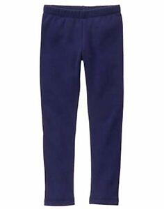 NWT Gymboree Warm and Fuzzy Navy Blue Leggings Girls Many sizes kid/toddler