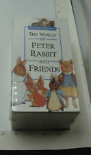 original SEALED -- The World of PETER RABBIT and FRIENDS - BEATRIX POTTER 3 VHS