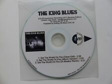 CDr   PROMO 3 titres  THE KING BLUES  Set the world on fire