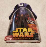 ANAKIN SKYWALKER STAR WARS REVENGE OF THE SITH SLASHING ATTACK BRAND NEW