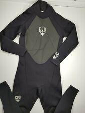 Evo Wetsuit 3mm Size S Scuba Snorkeling Surfing Free Diving Gear Black Men's