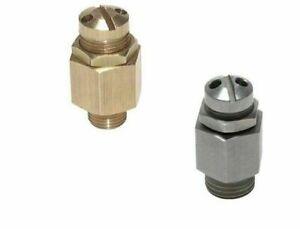 Druckluft Mini-Sicherheitsventil Überdruckventil Kompressor einstellbar