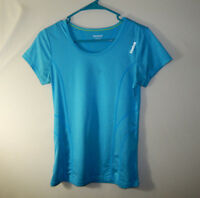 Reebok Womens Fitness Athletic Training Workout Shirt Top Size XS Extra Small