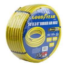 """Goodyear Rubber Air Hose 50' ft. x 3/8"""" in. 250 PSI Air Compressor Hose 12672"""