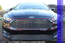 GTG 2015 - 2017 Ford Focus 1PC Polished Replacement Upper Billet Grille Grill