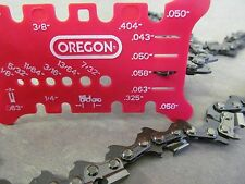 Chainsaw Saw Chain pitch gauge bar measuring tool Saw Chain Measurment Tool