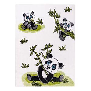 Kinder Teppich mit Tiermotive.Pandabär. Kinderzimmer Kurzflor.Guter Preis-5518C