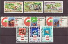 Hungary, Issues of 1975, 1976, Cancelled to Order hinged