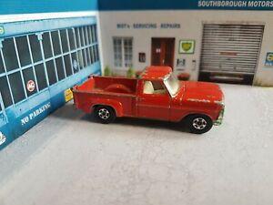 vintage lesney matchbox series no6  ford pickup pick up diecast superfast