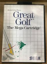 Great Golf (Sega Master System, 1990)