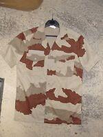 Chemisette Armée Française camouflage désert Daguet taille 41-42 (L) NEUVE