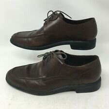 Cole Haan Air Stylar Oxford Dress Shoe Split Toe Lace Up Leather Brown Mens 10.5