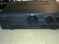 Daewoo AV Dolby Pro Logic Surround Sound Amplifier Model ACS-800AW