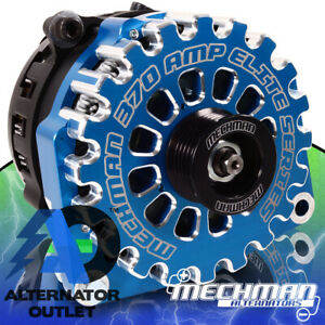 ⭐ Mechman 370 Amp Billet High Output Alternator 1988-1995 GM 4.3L / 5.0L / 5.7L