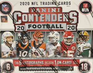 SEATTLE SEAHAWKS - CONTENDERS NFL 2020 HOBBY BOX - LIVE TEAM BREAK