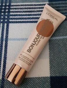 L'OREAL Skin Tint BB Cream BONJOUR NUDISTA Dark 30ml 92% Natural Ingredients