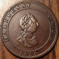 1814 CANADA HALF PENNY TOKEN HALIFAX HOSTERMAN - Nicer example!