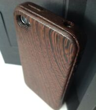 iWooden iPhone 4/4s Wenge Wood Case Thinnest Wood Cover✔️Wood Buttons✔️